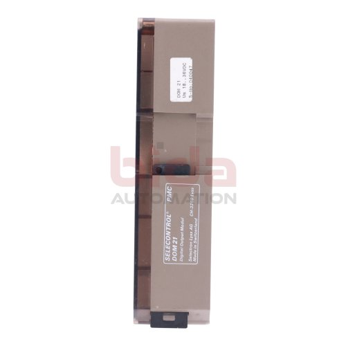 Selectron Lyss AG Selecontrol PMC DOM 21 Digital Output Modul Ausgangsmodul 18-36V