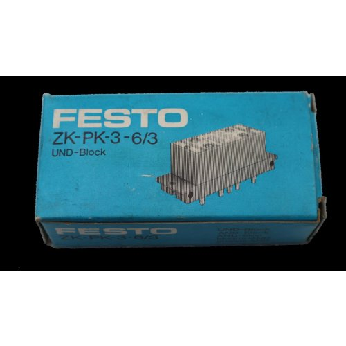 Festo ZK-PK-3-6/3 UND-Block Nr. 4204 AND-block