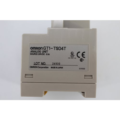 Omron GT1-TS04T Analog unit Einheitsmodul GT1-TS04TCST 24V
