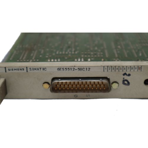 Siemens Simatic 6ES5512-5BC12 Anschaltung 512 connection interface Platine board