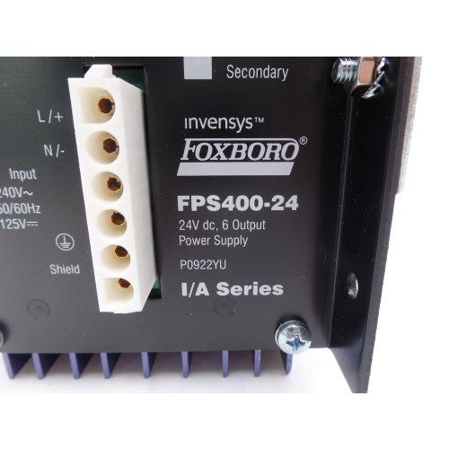 Invensys Foxboro P0922YU I/A Series FPS400-24 Netzteil power supply