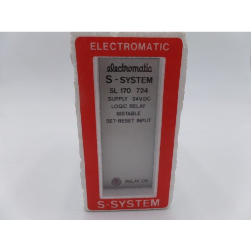 Electromatic S-System SL 170 724 Logikrelais bistabil logic relay bistable