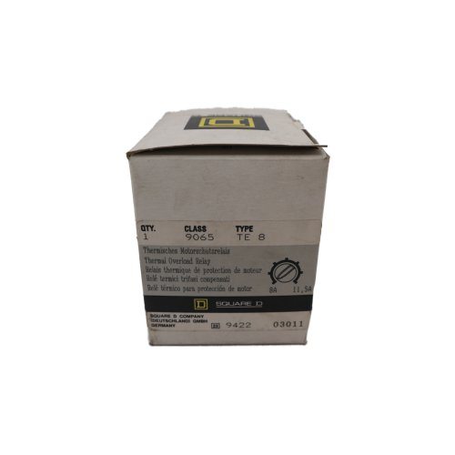 Square D 9065 TE 8 Thermisches Motorschutzrelais thermal overload relay 8-11,5A