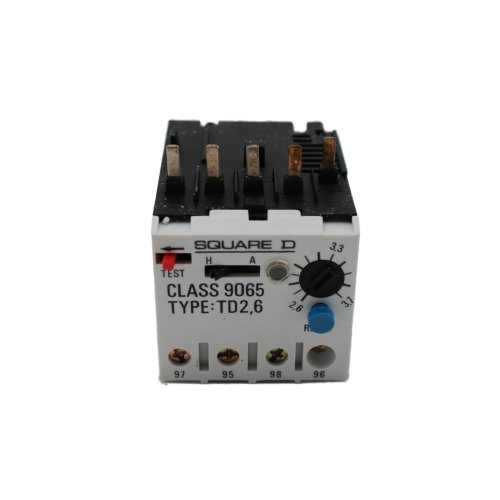 Square D 9065 TD 2,6 Thermisches Motorschutzrelais thermal overload relay TD2,6