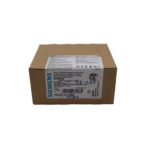 Siemens 3RU2116-1CB0 thermisches Überlastrelais thermal overload relay