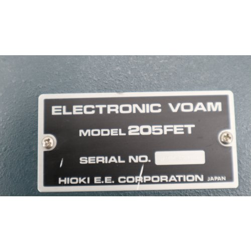 HIOKI Electronic VOAM 205FET Tischmultimeter bench multimeters Multimeter